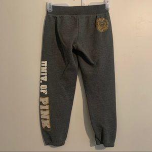 PINK VICTORIA SECRET Capri sweatpants